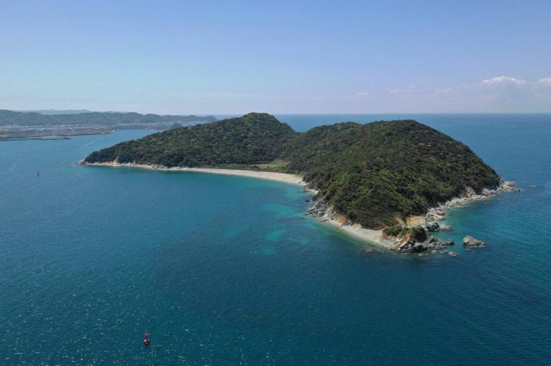 人の島 キャンプサイト