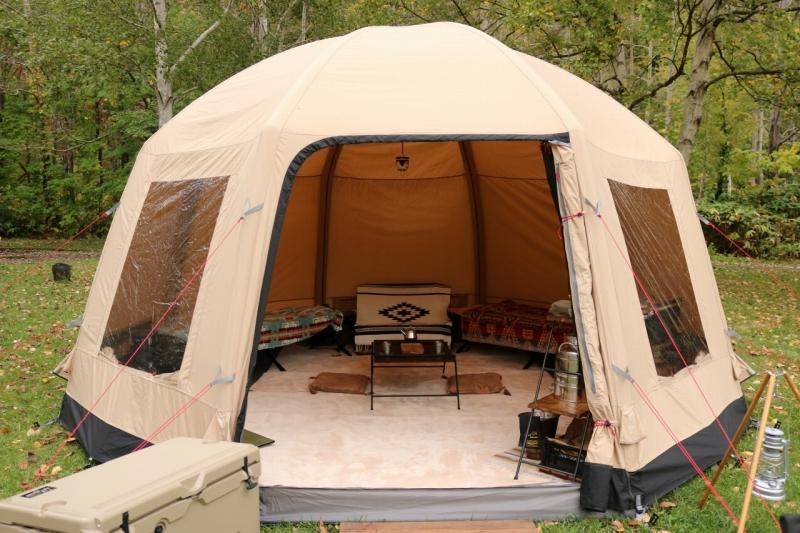 エア フレーム テント