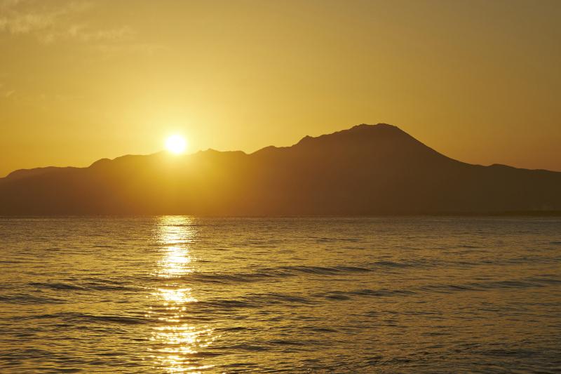 日の出_大山
