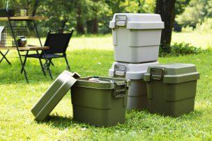 コスパ抜群のトランクカーゴに最小サイズが新登場!キャンプ用品の小分け収納やソロキャンプに使える!