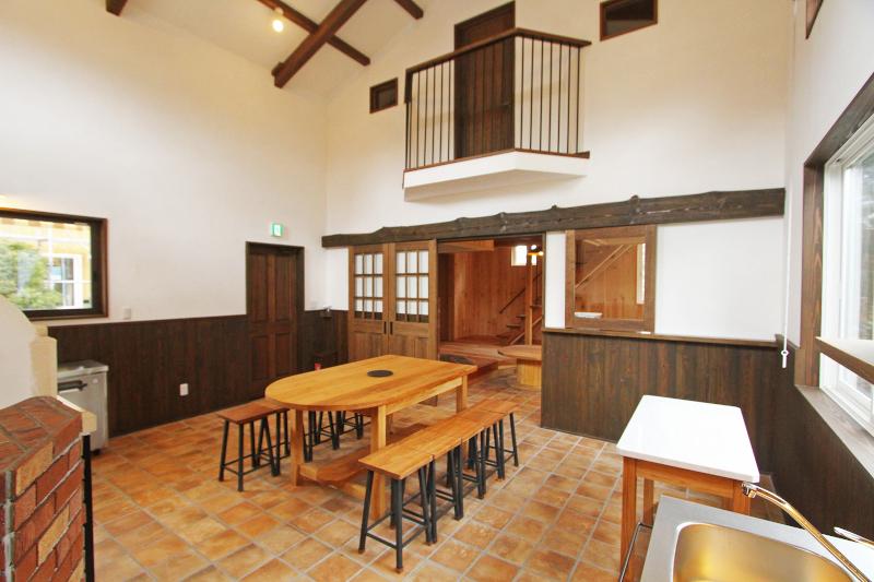 北軽井沢スウィートグラスの石窯コテージ MUGI
