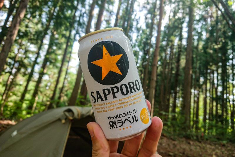何をしにソロキャンプに行くのかと問われれば「お酒を飲みに行くと答えます」